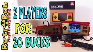 Family Pocket Unboxing, Gameplay and Thoughts on a Cheap but Passable Famiclone!