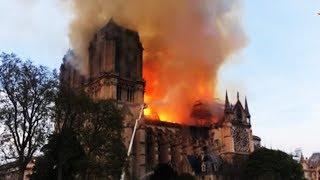 Пожар в Соборе Парижской Богоматери: случайность, или теракт?