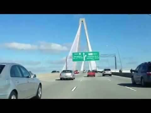 Charleston SC Bridge Road View Tour