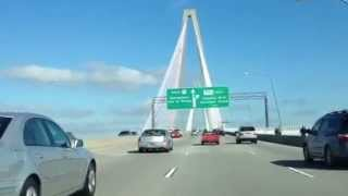 Charleston SC Bridge Road View Tour