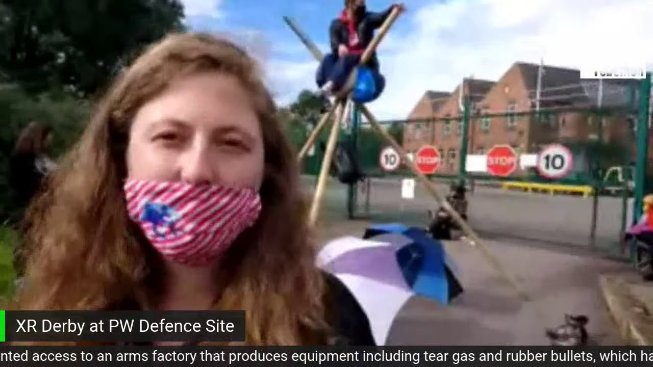 Protest Repression: Made in England