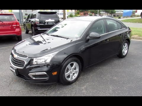 2016 Chevrolet Cruze Limited LT Walkaround, Start Up, Tour And Overview
