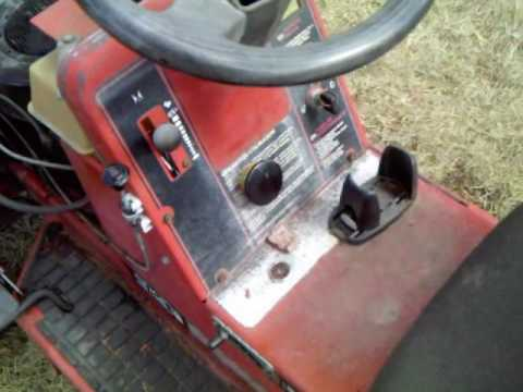 Lawn tractor starter switch repairwmv youtube lawn tractor starter switch repairwmv sciox Images