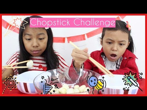 CHOPSTICK CHALLENGE ♥LOMBA DIRGAHAYU INDONESIA 72 ♥ LOMBA 17 AGUSTUS