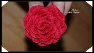 Схемы цветов из гофрированной бумаги(Хотите сделать цветы их гофрированной бумаги? Предлагаю сделать красивые розы или даже букет роз! Как сдела..., 2014-08-03T13:31:30.000Z)