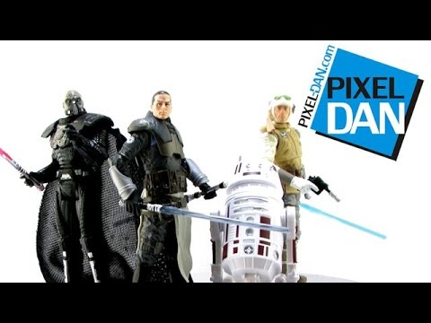 "Star Wars Black Series 3.75"" 2014 Wave 3 Figures Video Review"