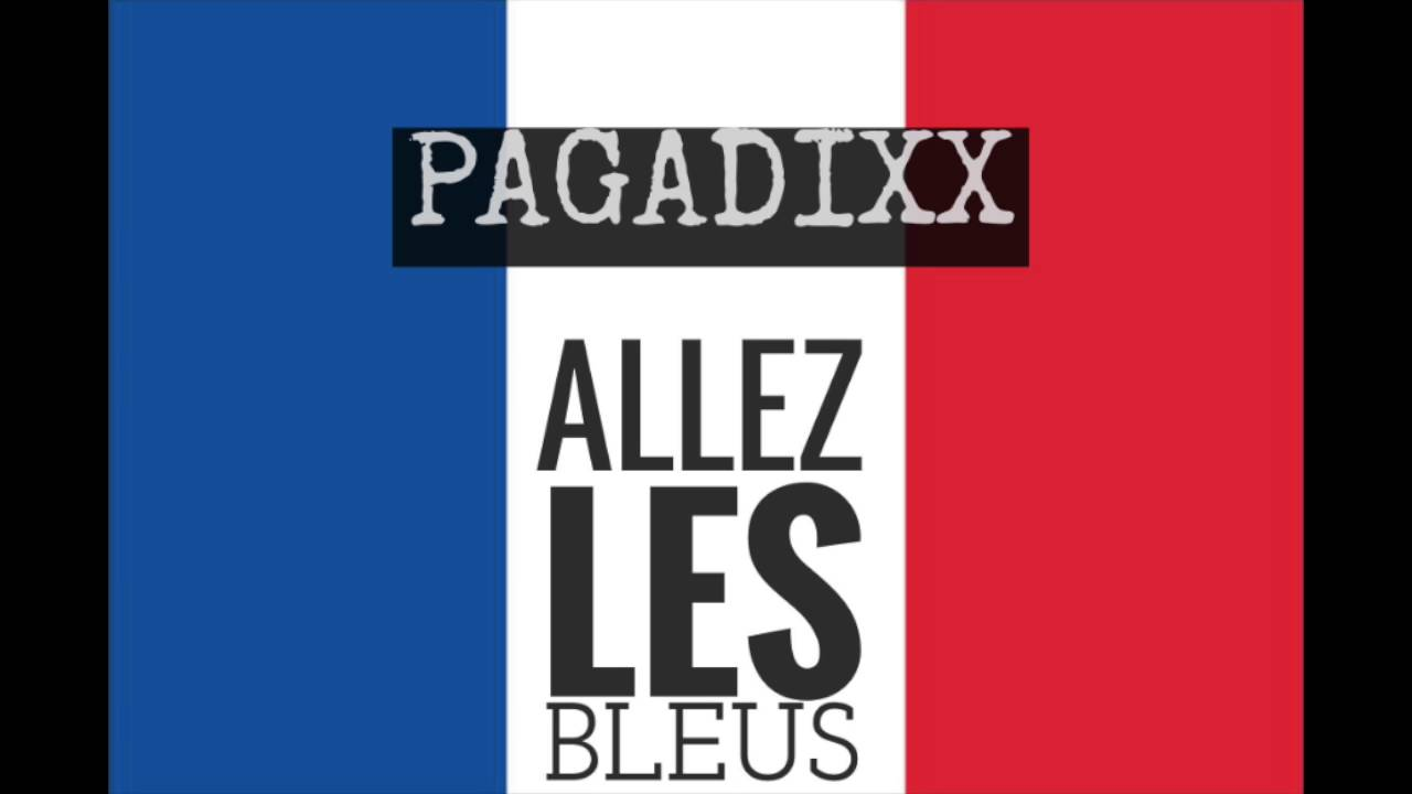 pagadixx goaaaal allez les bleus youtube. Black Bedroom Furniture Sets. Home Design Ideas