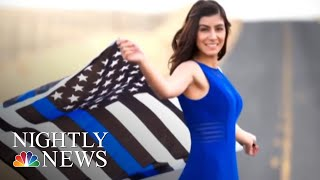 Rookie California Police Officer Shot And Killed | NBC Nightly News