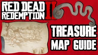 TREASURE MAP LOCATION & FULL GUIDE TO OVER $2000 IN RED DEAD REDEMPTION 2 Video