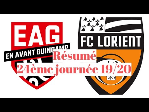Guingamp Lorient Goals And Highlights