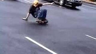 Some surf style sliding on the flowboards