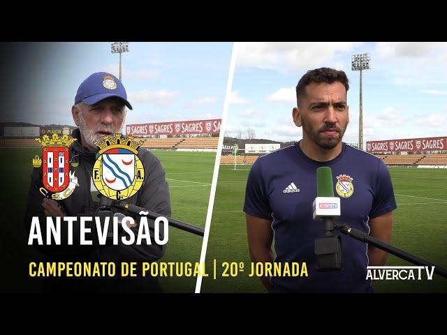 Caldas SC vs. FC Alverca - Antevisão