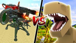 1,000 MINECRAFT SENTRY GUNS vs MINECRAFT DINOSAURS!!
