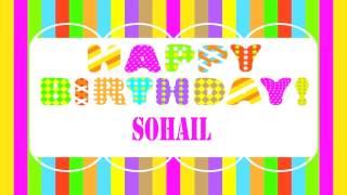 Sohail   Wishes & Mensajes - Happy Birthday