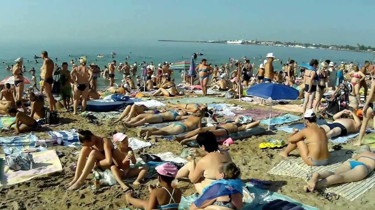 пляж в евпатории солярис фото