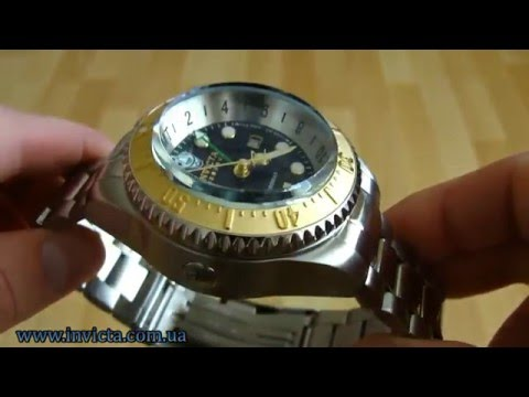 Invicta 16960 Pro Diver Hydromax Swiss Made GMT 1000m