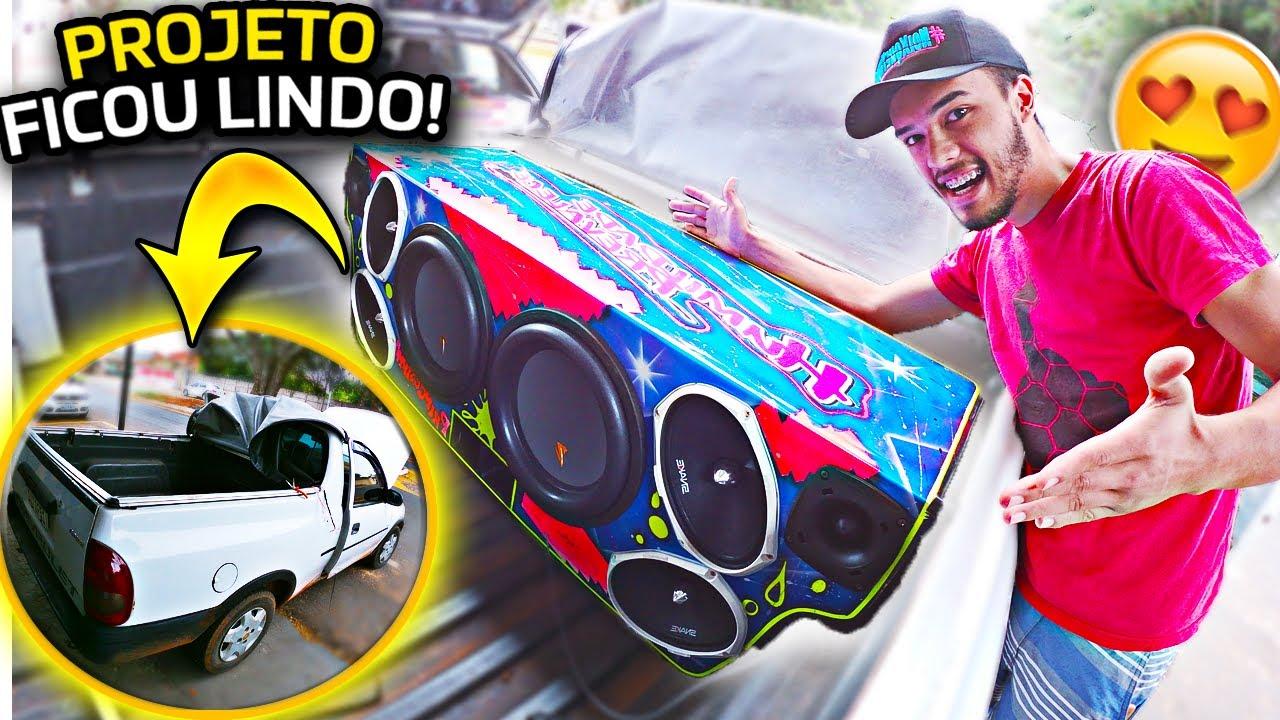 Download MONTAMOS um PROJETO DE SOM AUTOMOTIVO DIFERENTE DOS IGUAIS 😍!