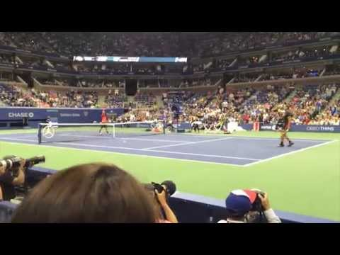 US Open 2015 - Court Level Tennis