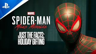 Marvel's Spider-Man: Miles Morales - Just the Facts: Holiday Gifting | PS5, PS4