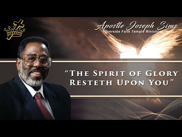 Audio Sermon - The Spirit of Glory Resteth Upon You - Hebrews 3; Mark 4