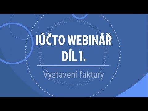 iÚčto webinář I - Jak vystavit fakturu a opakovaná fakturace from YouTube · Duration:  20 minutes 10 seconds