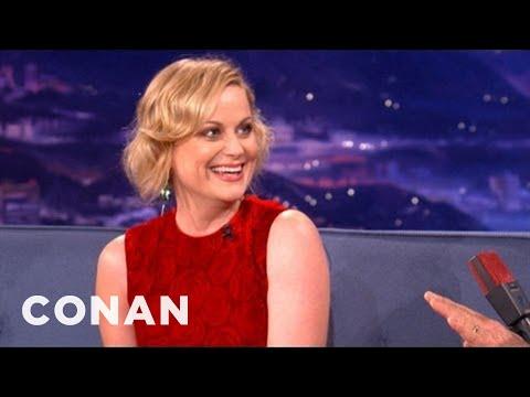 Amy Poehler Interview Pt. 1 12/04/12 - CONAN on TBS