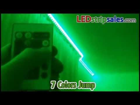 RGB color change led flexible strip light for living room decoration lighting