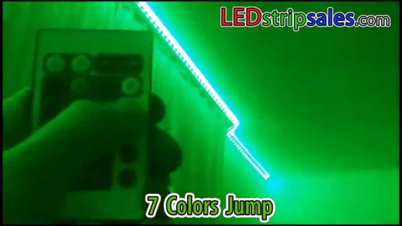 RGB color change led flexible strip light for living room decoration lighting  sc 1 st  YouTube : color lighting - www.canuckmediamonitor.org