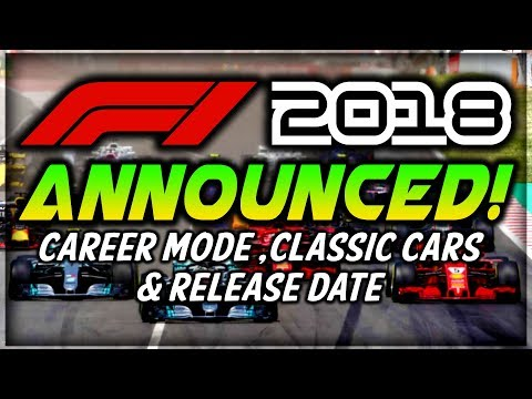 F1 2018 Game | RELEASE DATE, CAREER MODE FEATURES - INTERVIEWS COMING BACK?! & MORE!