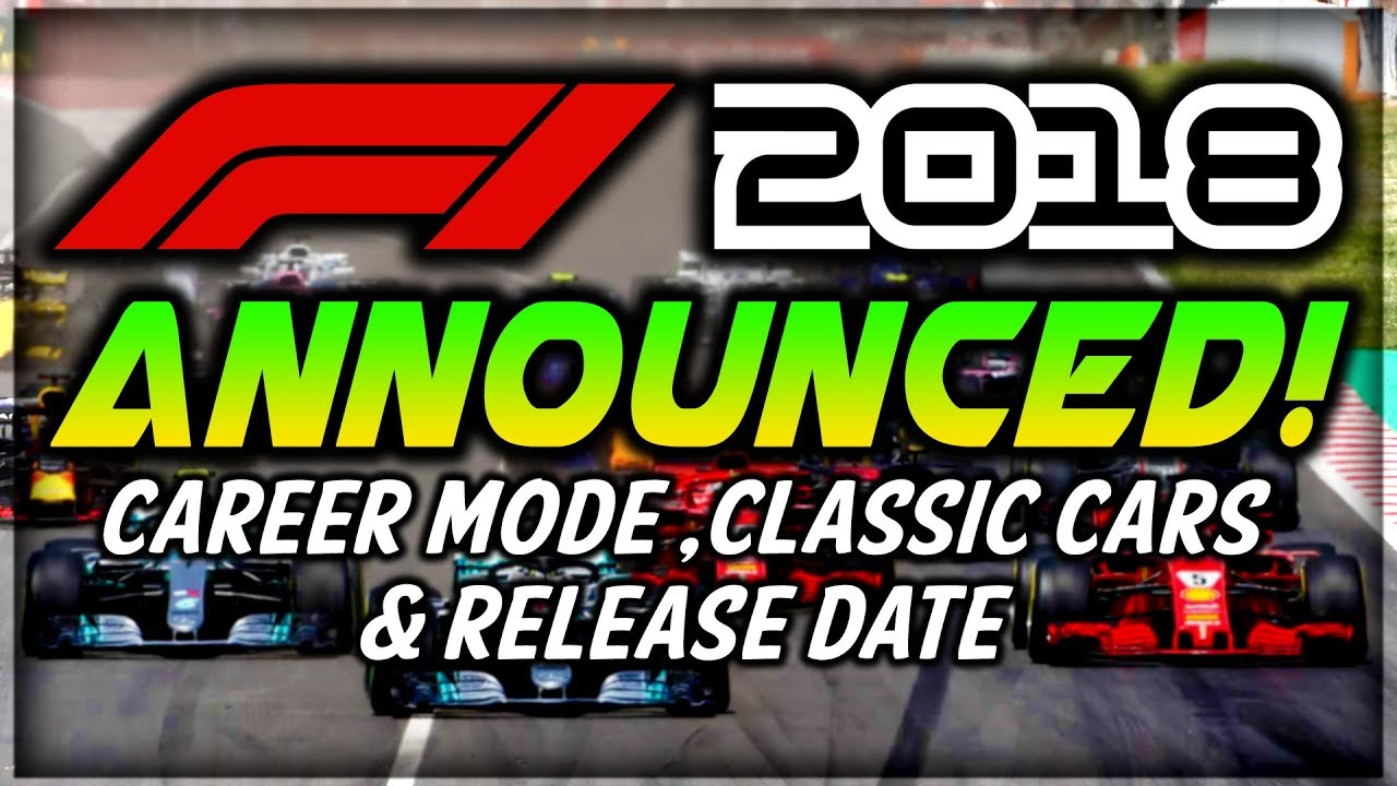 f1 2018 game release date career mode features. Black Bedroom Furniture Sets. Home Design Ideas