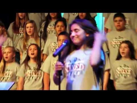 Aliyah's solo with the stevens middle school choir