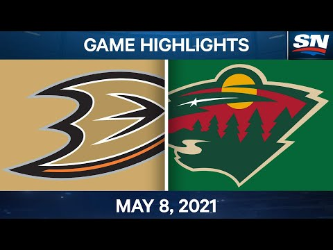 NHL Game Highlights | Ducks vs. Wild - May 8, 2021