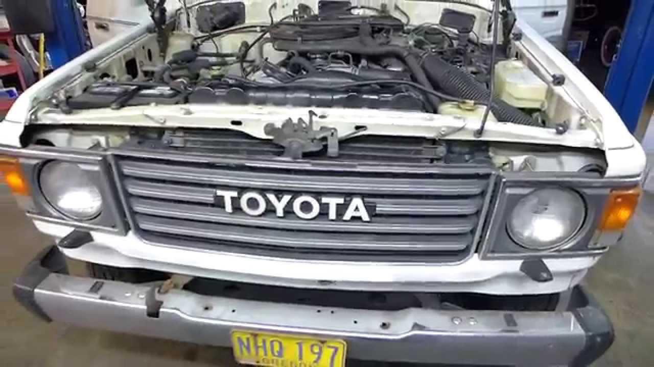 1986 Toyota Fj60 Landcruiser Improvements Youtube