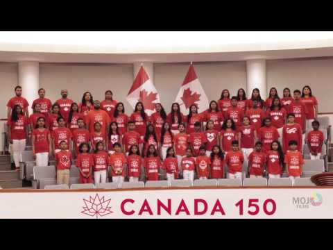 Canadian National Anthem in Tamil by Toronto Tamil Singers
