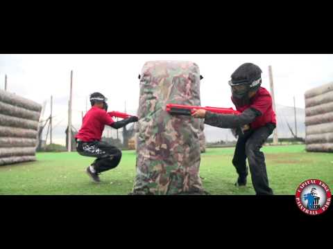 """Family Friendly Paintball with Dave """"The Beast"""" Bains"""