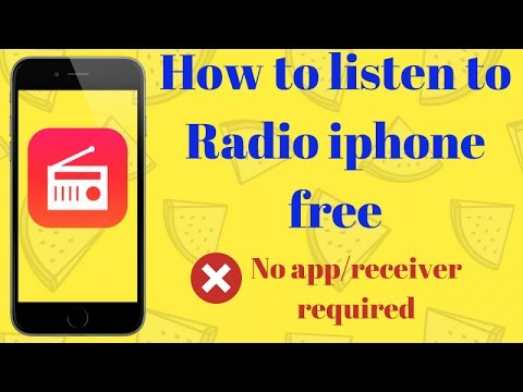 Free Radio on iphone 6 iphone 4s iphone 5s - iphone tricks