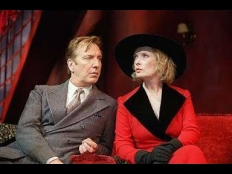 Alan Rickman & Lindsay Duncan Private Lives star of Harry Potter Snape Sense & Sensibility Love