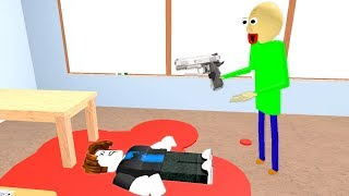 What Happens If You Don't Listen To Baldi's Basics? (Roblox Animation)