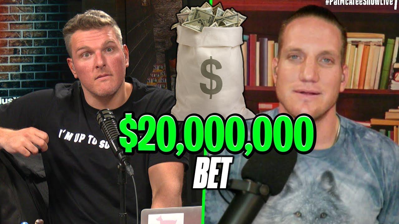 Pat McAfee & AJ Hawk Have A $20 MillionBet