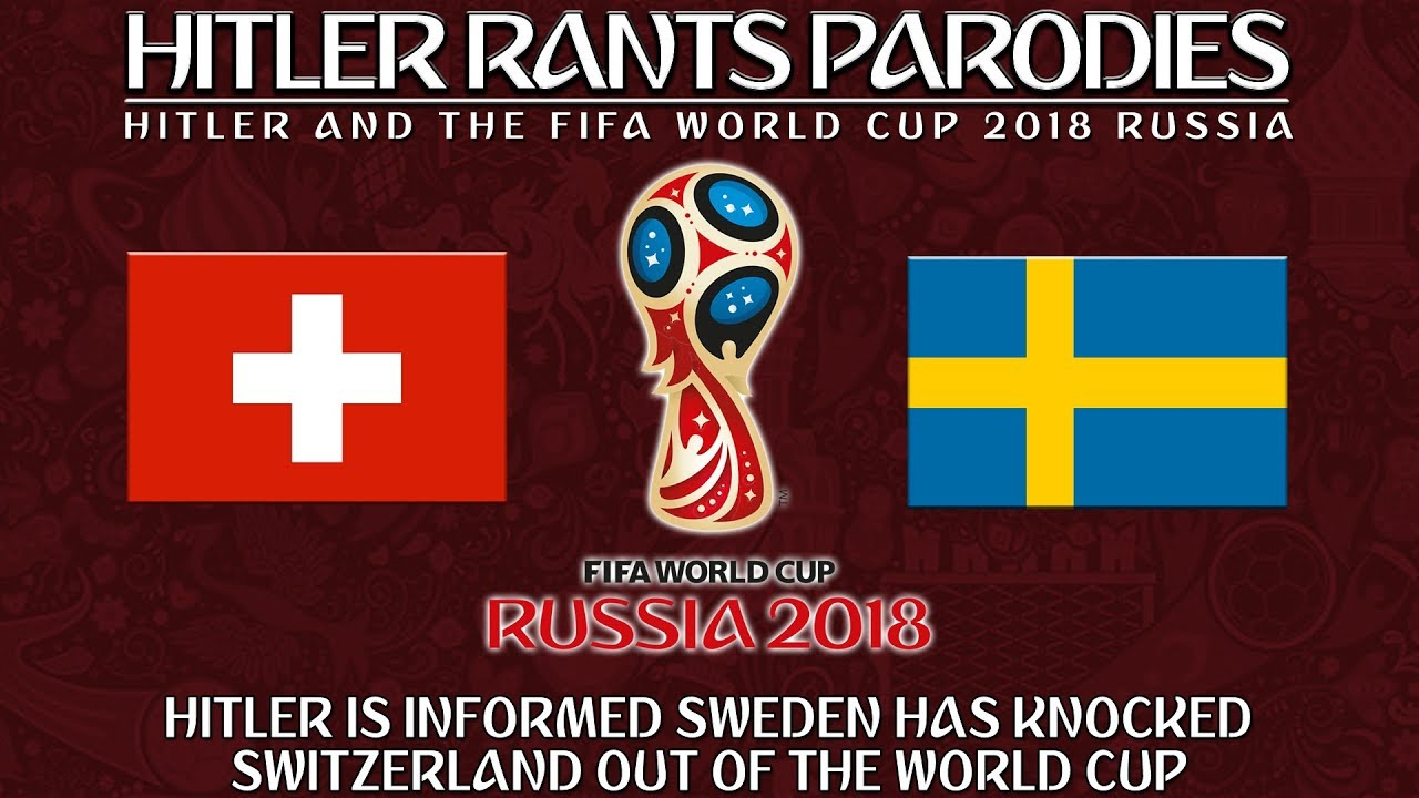 Hitler is informed Sweden has knocked Switzerland out of the World Cup