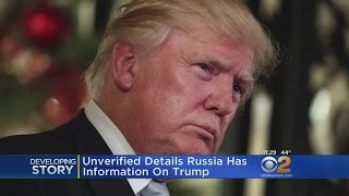 Report Says Russia Gathered Compromising Information On Trump