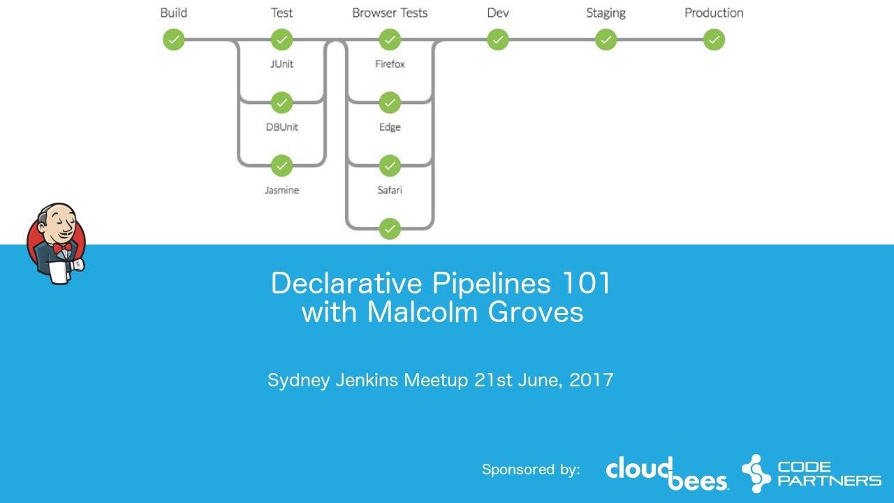 Sydney Jenkins Meetup - Declarative Pipeline
