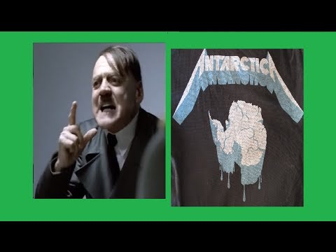 Hitler finds out Metallica will play in Antarctica in December