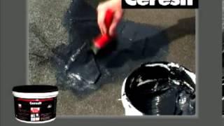 Ceresit Aquablock opravný silikonový tmel