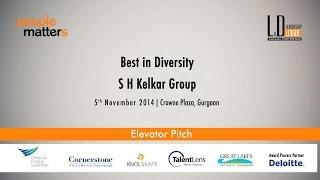 Best in Diversity- SH Kelkar Group