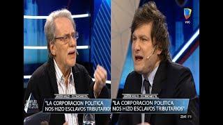 Javier Milei se cruza con el economista Ismael Bermudez, Animales Sueltos- 26/07/16
