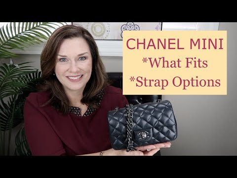 Chanel Mini- What Fits & Strap Options