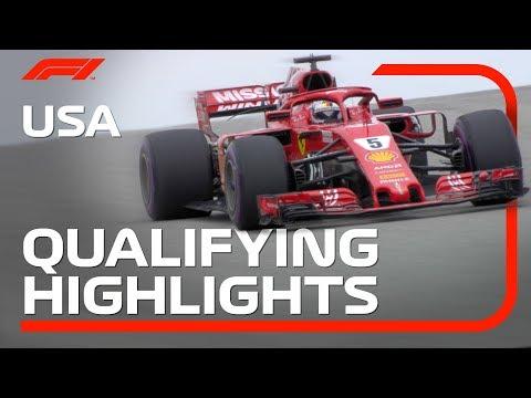 2018 United States Grand Prix: Qualifying Highlights
