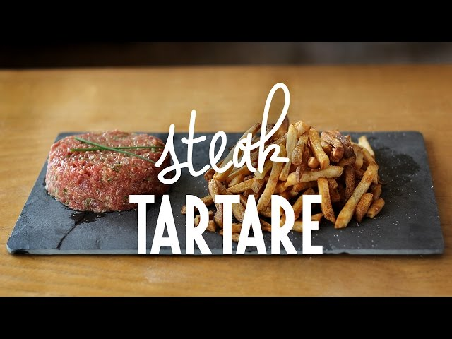 Steak Tartare | Rendez-vous à Paris