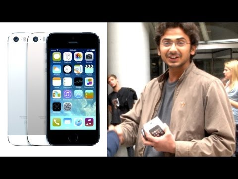Thumbnail: Giving an iPhone 5s to a complete stranger
